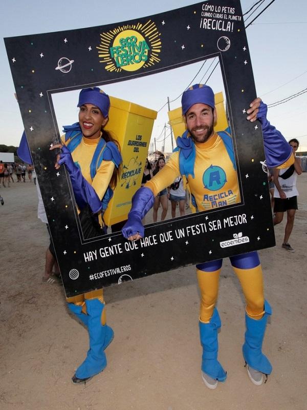 Ecoembes fomentará el reciclaje entre los festivaleros del Granada Sound