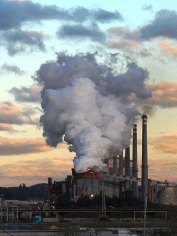 Asturias. Dos días horrorosos de contaminación en la comarca de Avilés, otro record mas 625 microgramos/m3