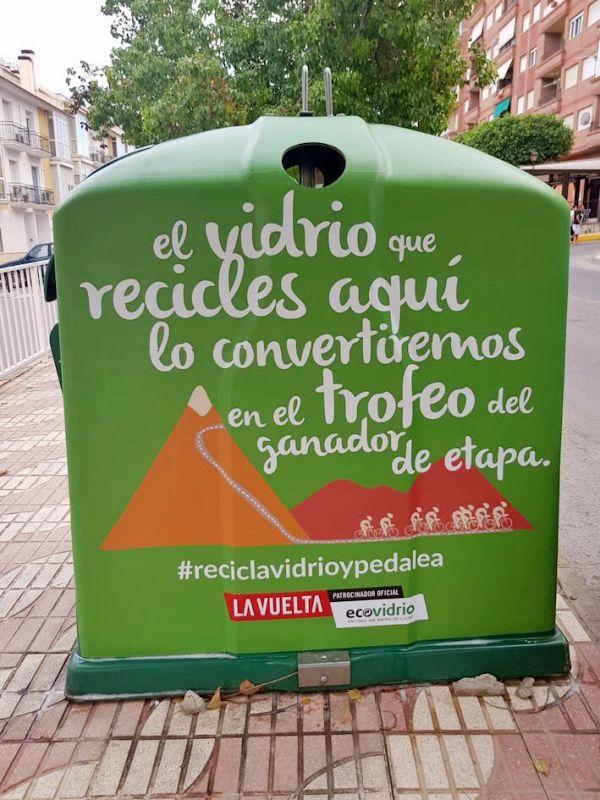 En la quinta edición de 'Recicla y pedalea', Ecovidrio instalará más de 40 contenedores especiales