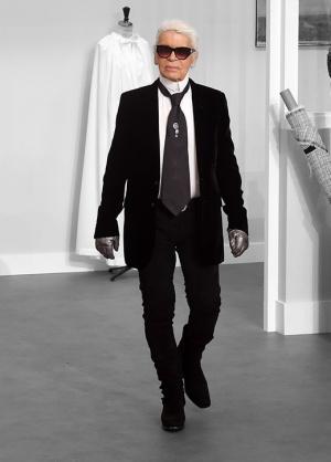Karl Lagerfeld ya tiene su propia araña