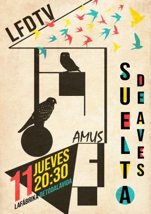 Liberan varias aves recuperadas en el hospital de AMUS y la colaboración de 'LA FABRIKA DETODALAVIDA'