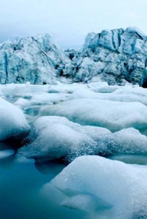 El hielo de Groenlandia no se derrite, sino que se desliza hacia el océano