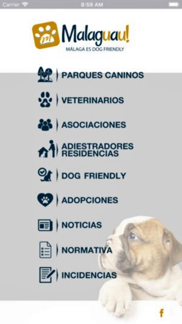 Málaga crea un servicio de búsqueda de mascotas perdidas