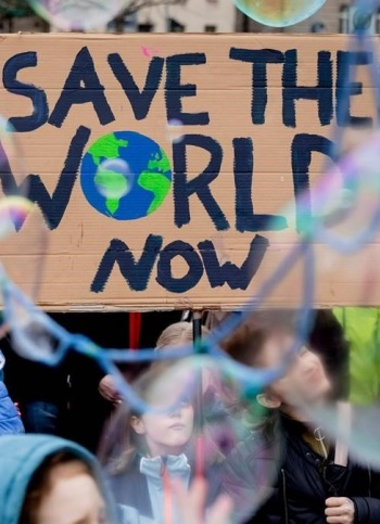 'Fridays For Future' toma las calles para protestar contra el cambio climático