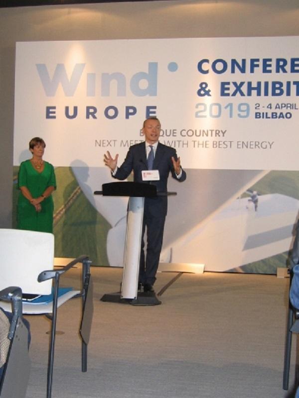 Su Majestad el Rey Felipe VI inaugura WindEurope 2019 Conference & Exhibitio