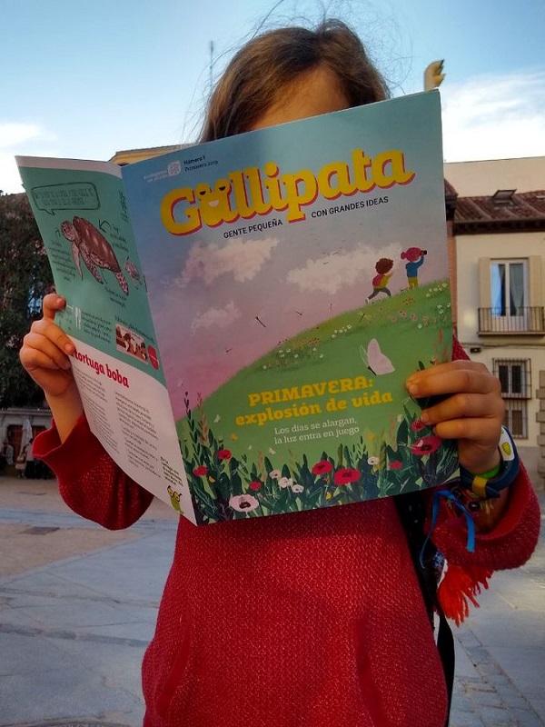 Feliz 40ª aniversario para la Revista infantil 'Gallipata'