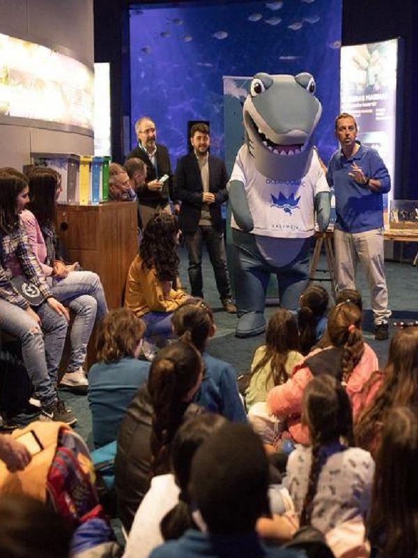 'Ona, la tiburona y la cinta mágica', un cuento infantil para concienciar del peligro de las basuras marinas