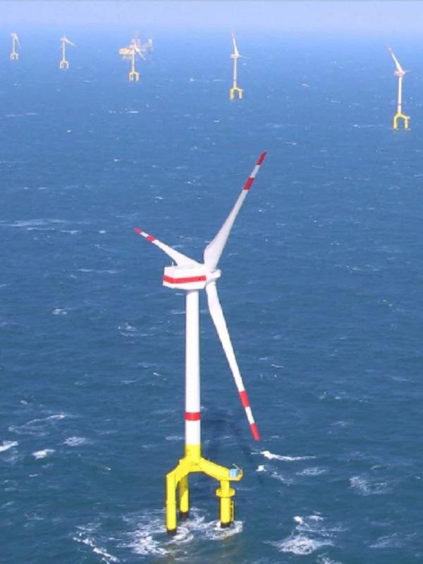 Siemens Gamesa, elegido proveedor preferente para dos proyectos 'offshore' en Francia de casi 1.000 MW