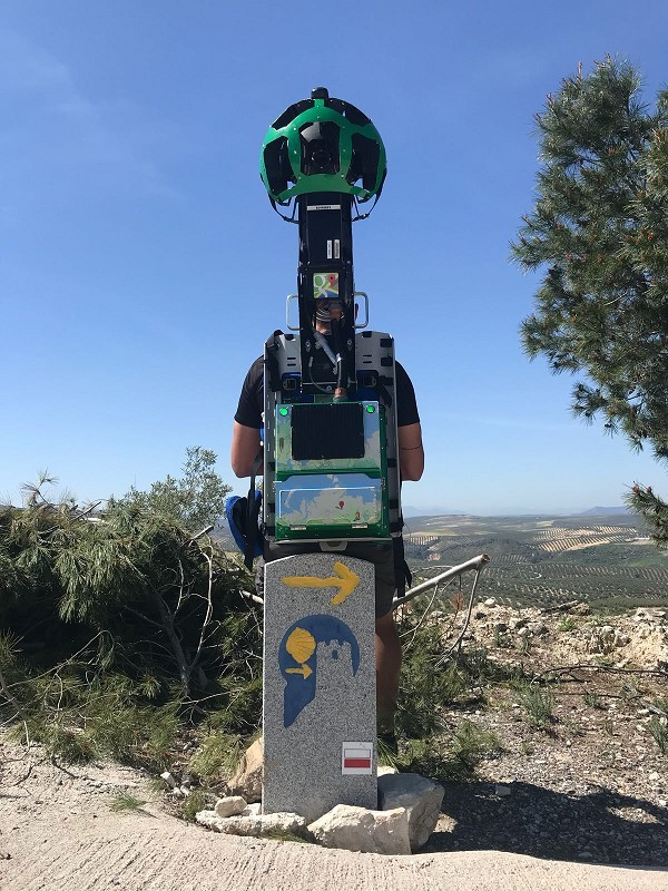 Google digitaliza los 745 kilómetros de la Gran Senda de Málaga, que podrá visualizarse con imágenes panorámicas en 360º