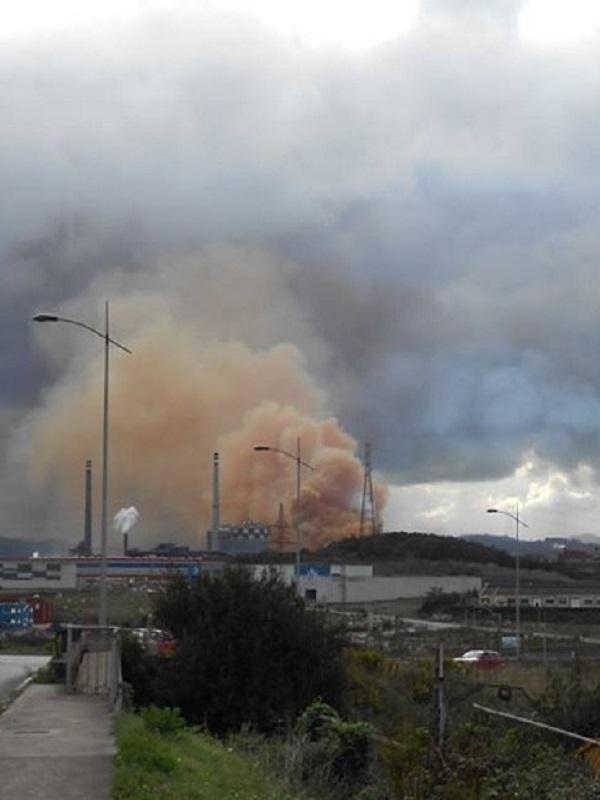 Asturias. Este jueves los vecinos de la Cuenca del Nalón tuvieron un día horroroso de contaminación continua