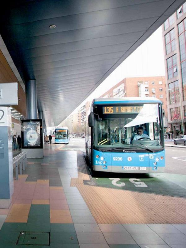 Madrid llenará la cochera de EMT de La Elipa con 333 autobuses eléctricos