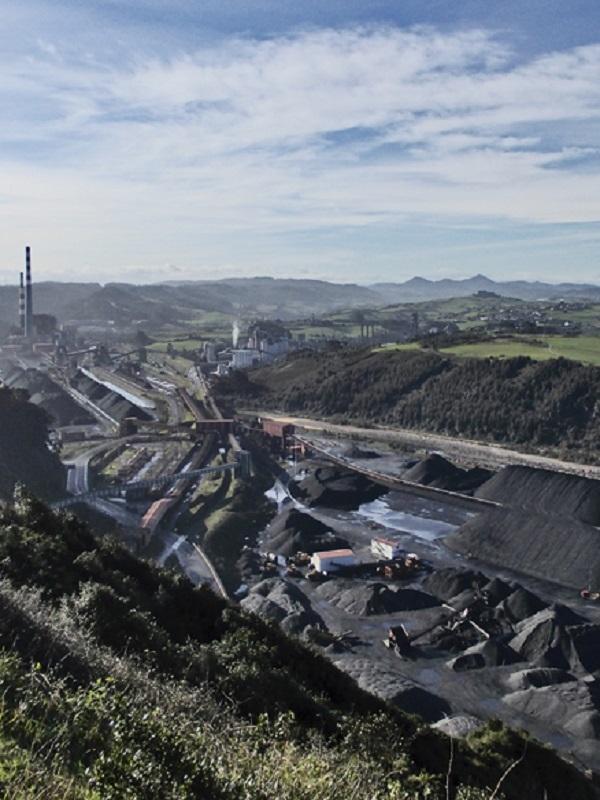 Asturias. Nos parece insuficiente las medidas propuestas para el parque de carbones de Aboño
