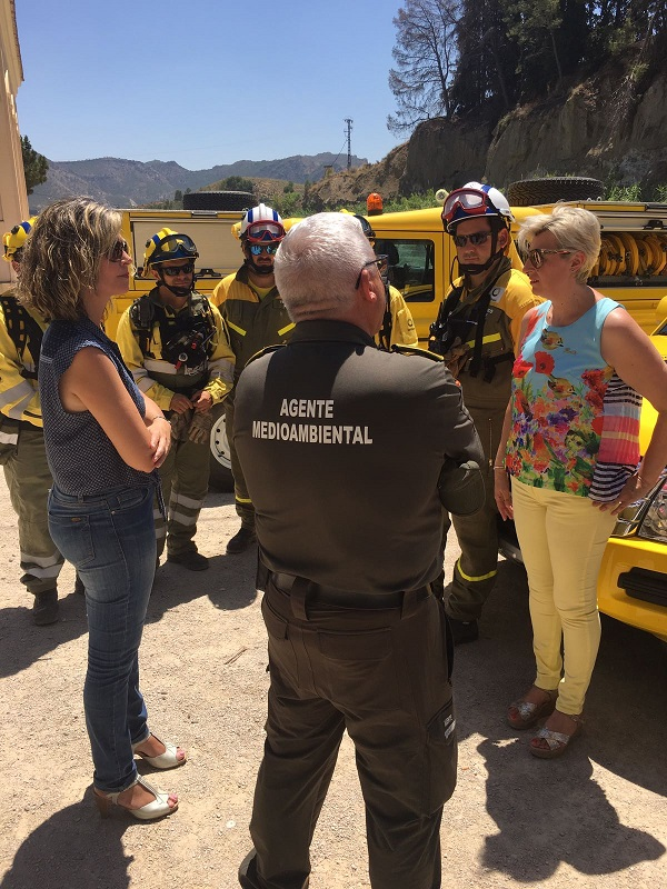 Agentes medioambientales murcianos contarán un dron para labores de seguimiento y vigilancia contra incendios forestales
