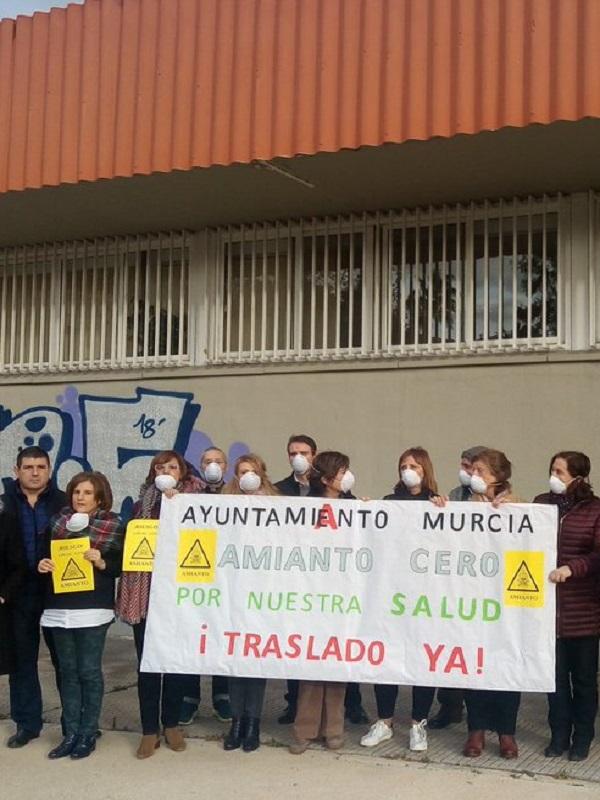 Por un Plan de control del amianto en Murcia