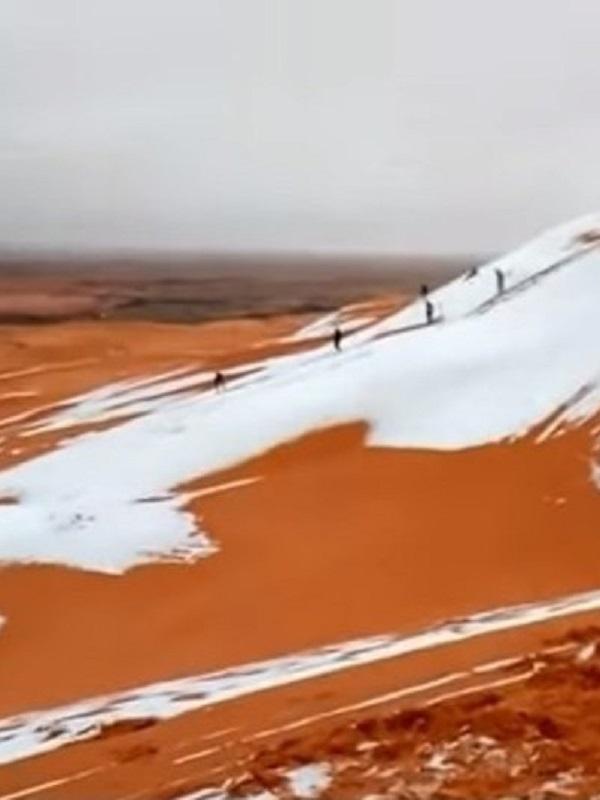 Una corriente de hielo dejó huella en el sur desértico de África
