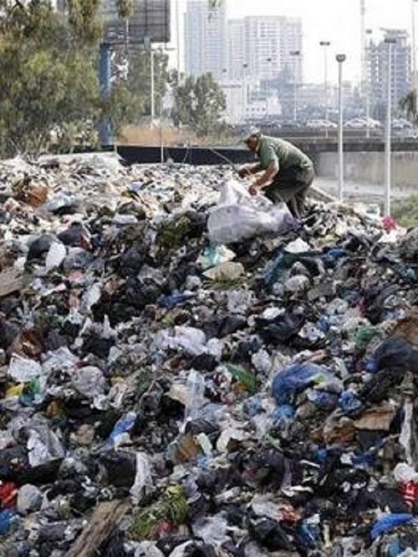 Crisis de basura en Líbano