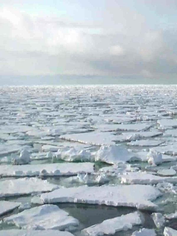 La fusión prevista de hielos polares puede acabar en caos climático