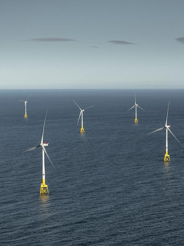 Europa instaló 2,6 gigawatios nuevos de energía eólica marina en 2018