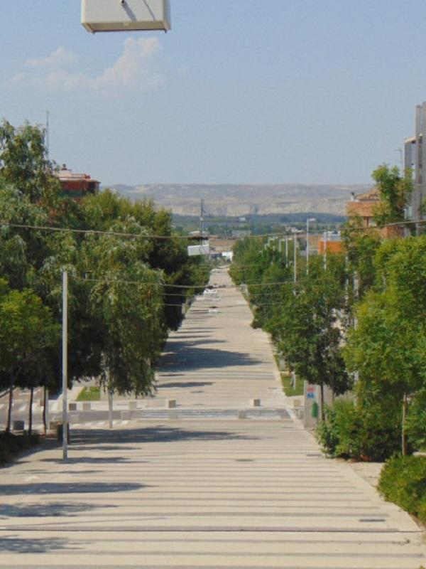 Proyecto del corredor verde del Ebro