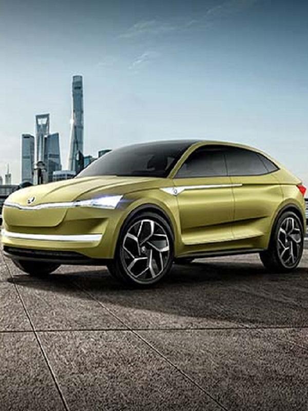 Skoda presenta su crossover de cuatro puertas eléctrico