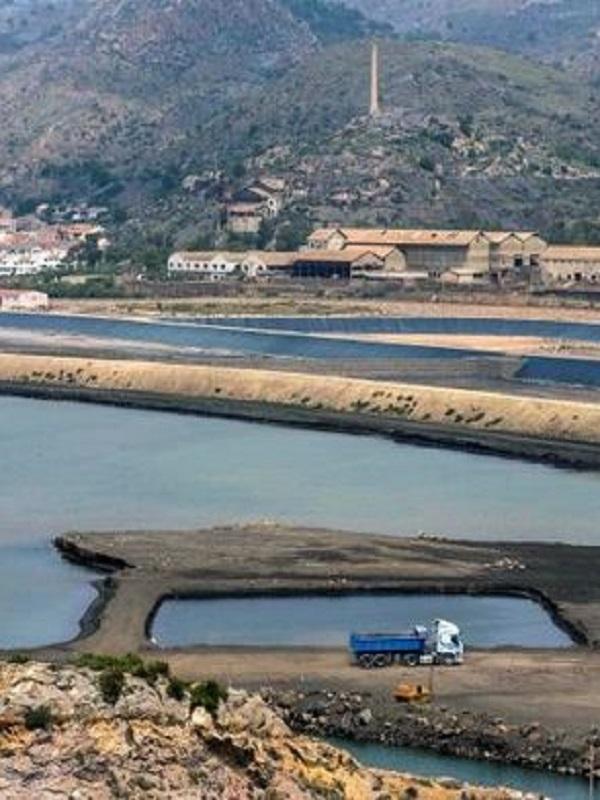 El Sincrotrón Alba analiza residuos mineros de la costa de Murcia para detectar contaminación