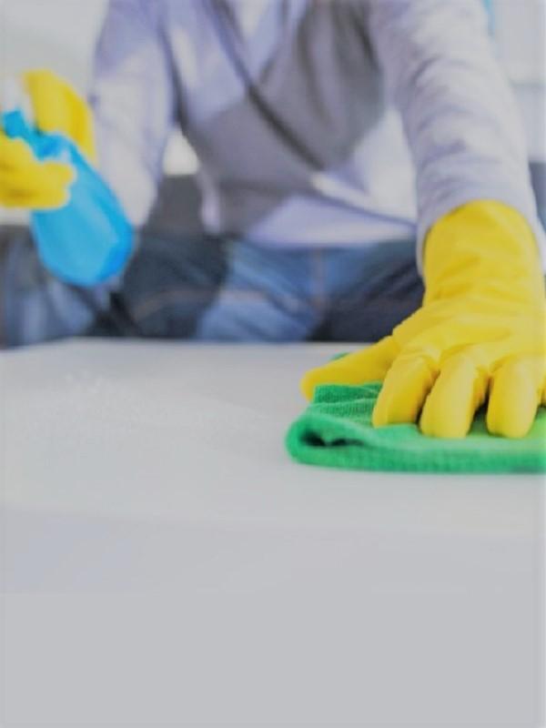 La limpieza del hogar es una fuente oculta de contaminación del aire