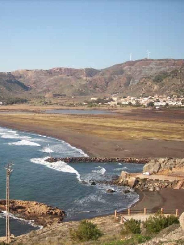 El Sincrotrón ALBA analiza los residuos mineros vertidos en la bahía de Portmán