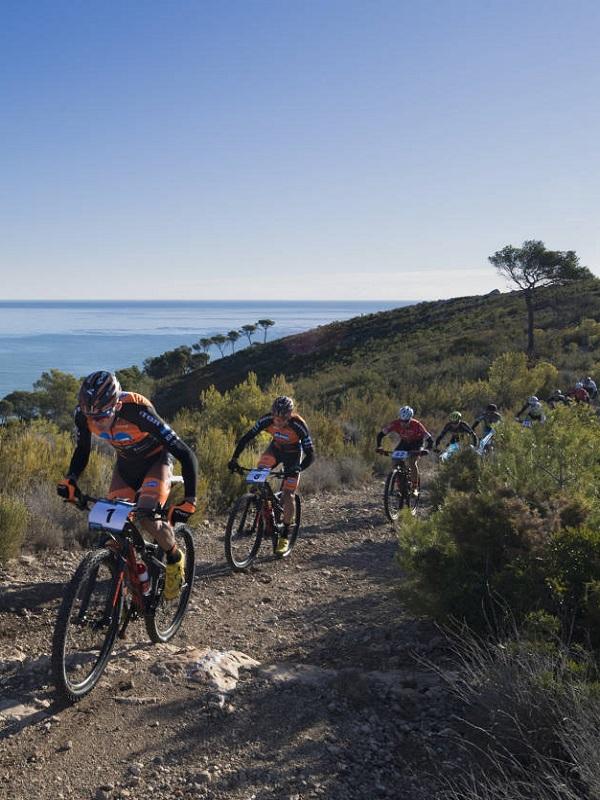 Los mejores bikers de montaña del mundo promocionan los atractivos de Castellón