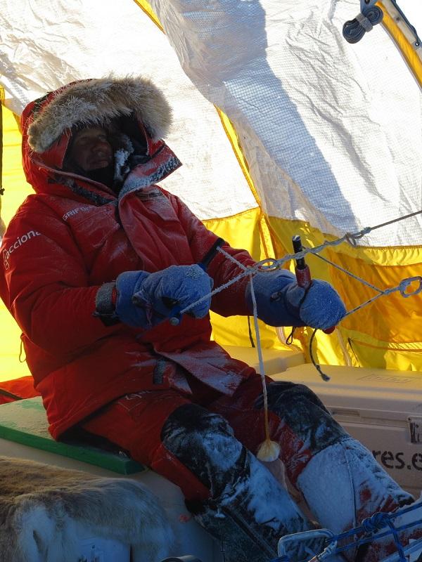 El Trineo de Viento logra alcanzar una base antártica abandonada desde hace 50 años