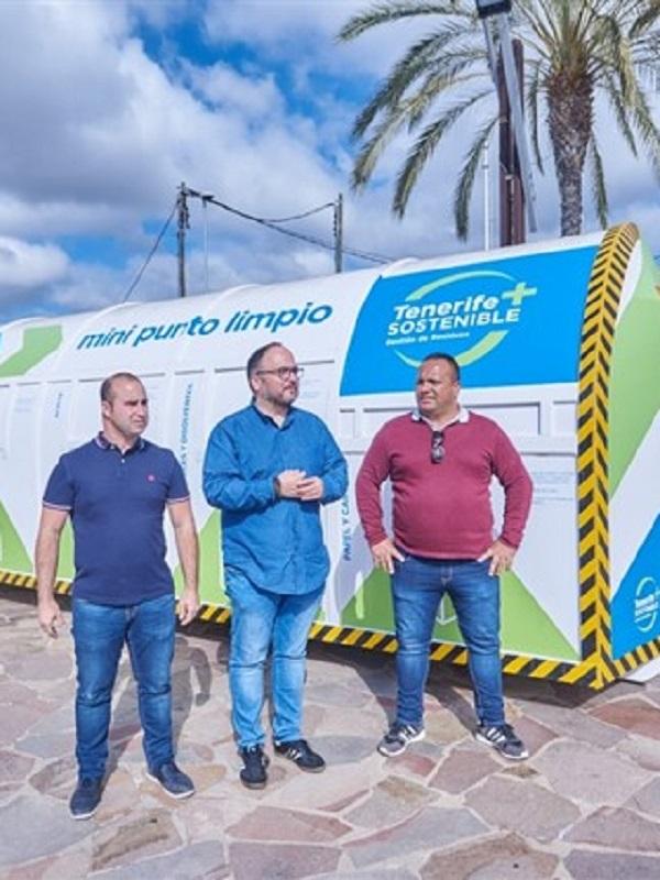 Retiran 15 toneladas de ropa y calzado en los mini puntos limpios ubicados en 13 municipios de Tenerife