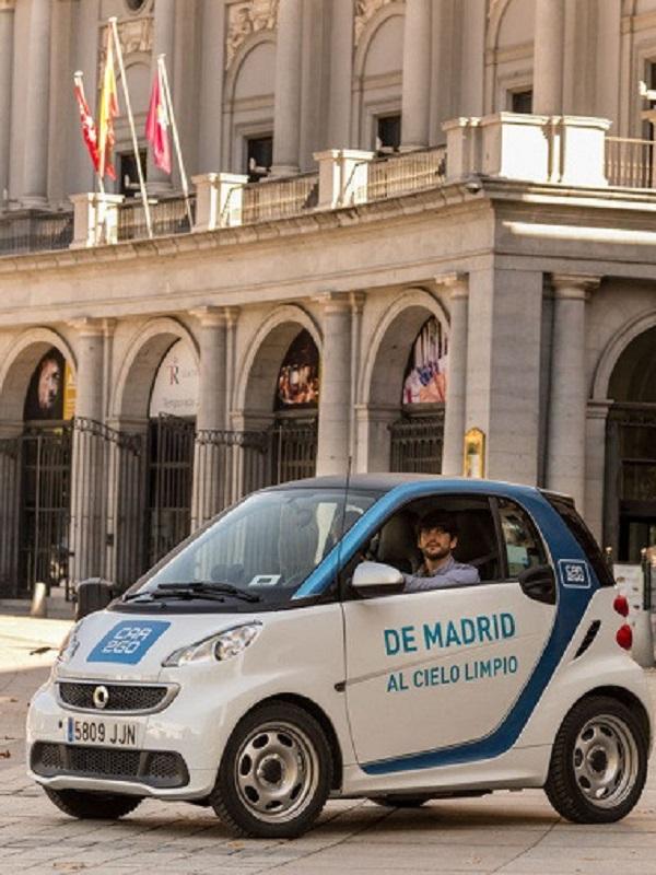 Car2go alcanza los 237.000 usuarios en España en 2018