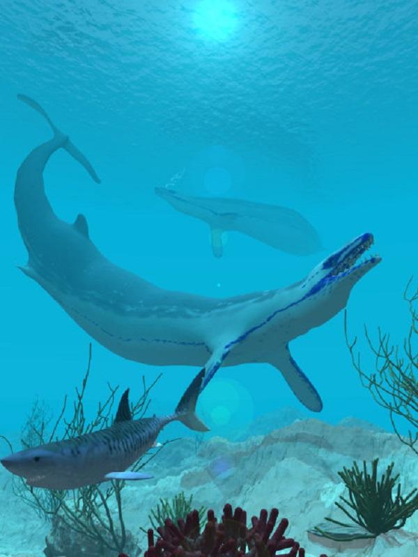 Basilosaurus isis, un depredador marino extinto que devoraba ballenas
