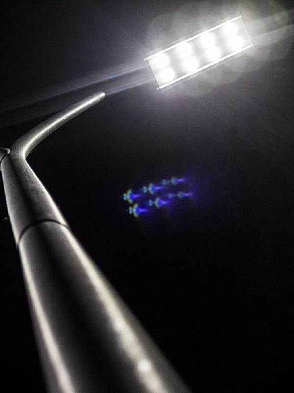 Inaugurada la nueva iluminación LED del polideportivo de Ramales de la Victoria