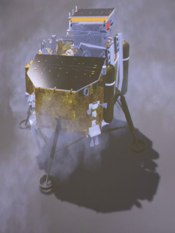 El brote de algodón en la Luna sucumbe tras un corte de calefacción