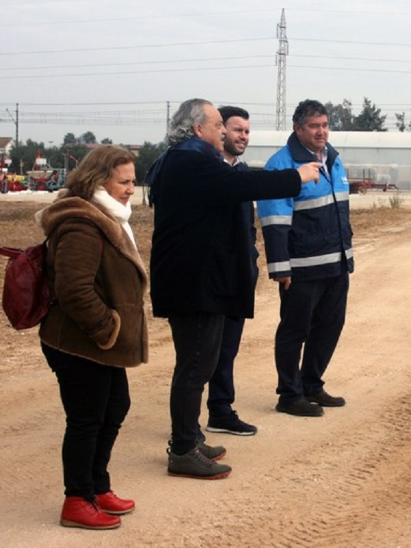 Una delegación de Mare Terra Fundació Mediterrània visita la Estación Experimental Agrícola de BASF en Utrera