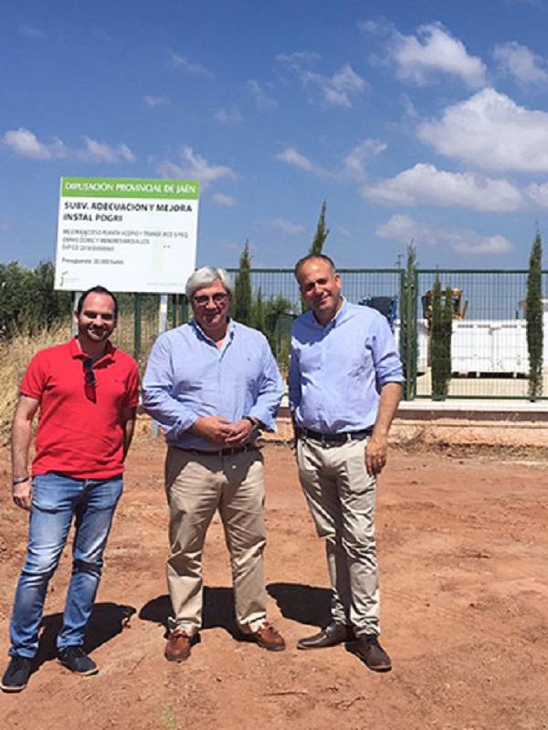 El punto limpio de Jaén recibió casi 30.000 entregas en el segundo semestre