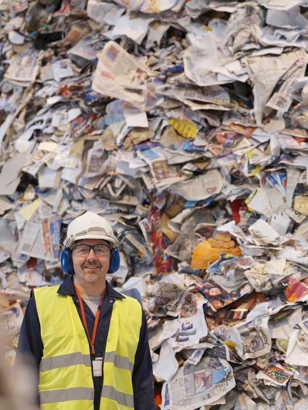 La industria papelera española es la tercera más recicladora de Europa