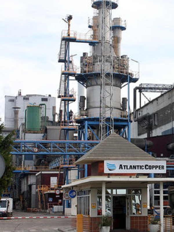 Atlantic Copper apuesta por las energías renovables en Huelva