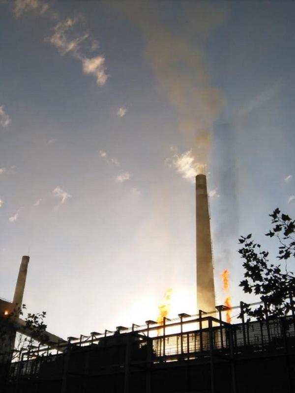 Asturias. Hasta lloviendo los domingos se dispara la contaminación en Gijón