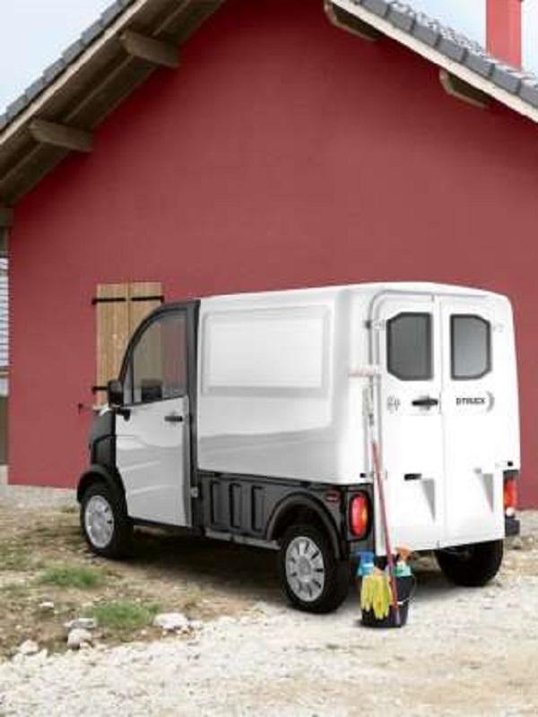 Aixam-Pro lanza el e-Truck, un vehículo comercial ecológico y eléctrico