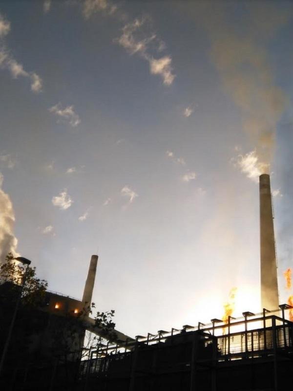 Hasta diluviando se dispara de noche el cancerigeno benceno en Oviedo