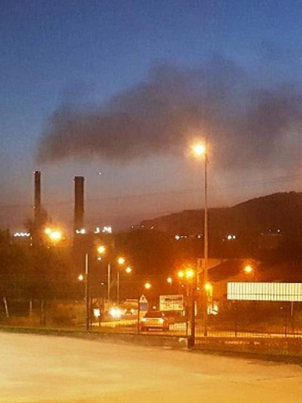 Asturias. Otra noche más horrorosa de contaminación en Gijón