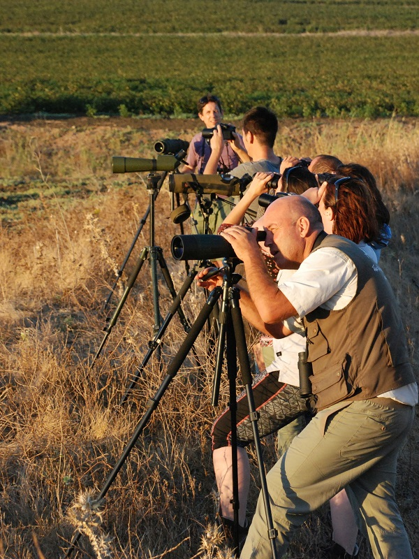 Cederna Garalur organiza dos talleres sobre turismo ornitológico