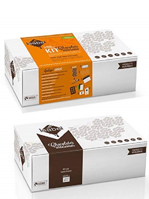 Como hacer tu propio chocolate BIO con el Kit de Chocolates Artesanos Isabel