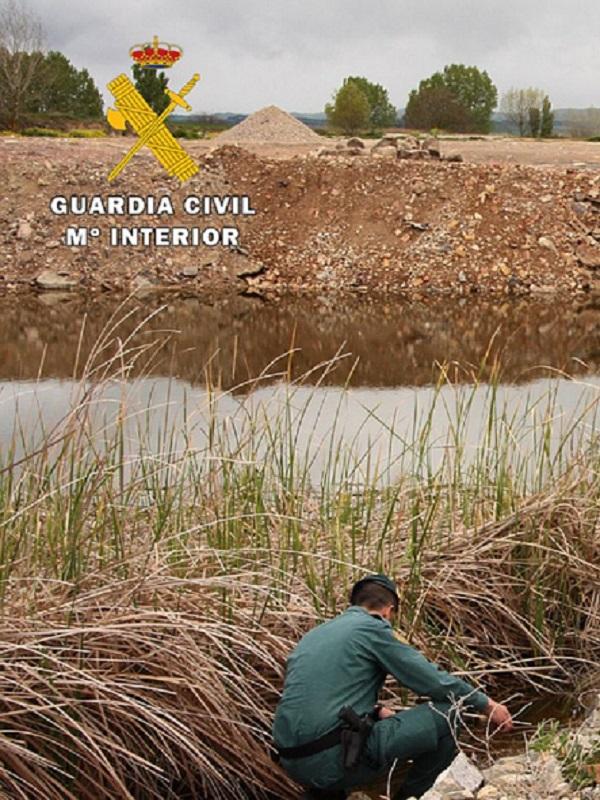 Cinco investigados por destruir un humedal que albergaba especies protegidas en Burgos
