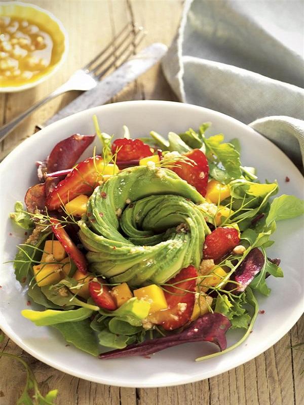 En el 'restaurante' no te olvides de incluir opciones saludables para facilitar la dieta