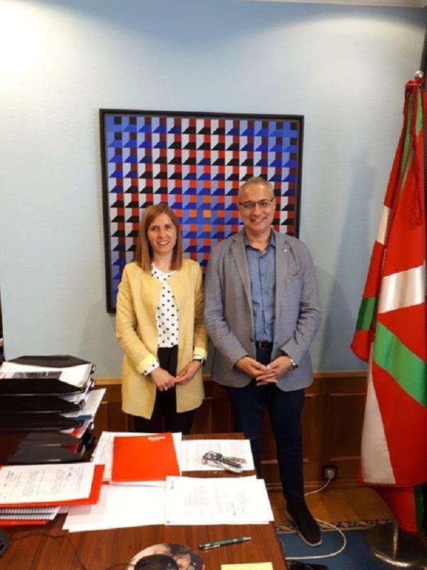 El presidente de ISWA presentó el World Congress ISWA2019 a las autoridades de Bilbao y Bizkaia