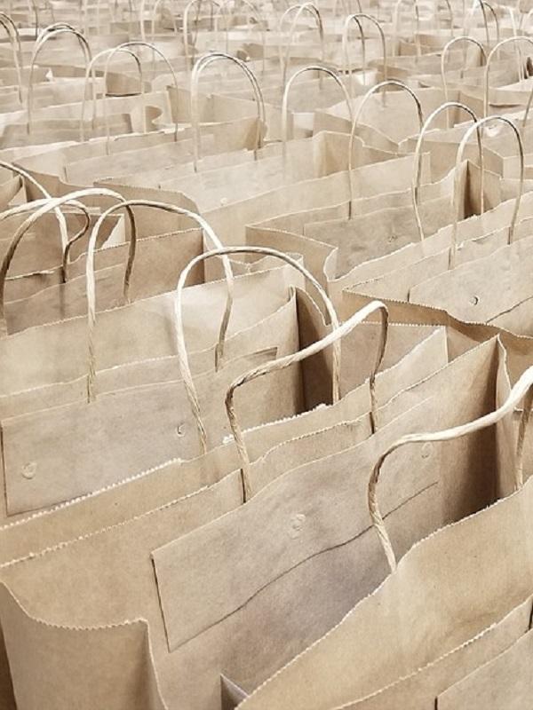 Las bolsas de papel reducen en España 84.500 toneladas CO2 en la atmósfera