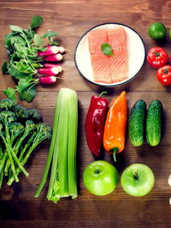 En tu dieta saludable no pueden faltar las frutas, verduras, legumbres y pescados
