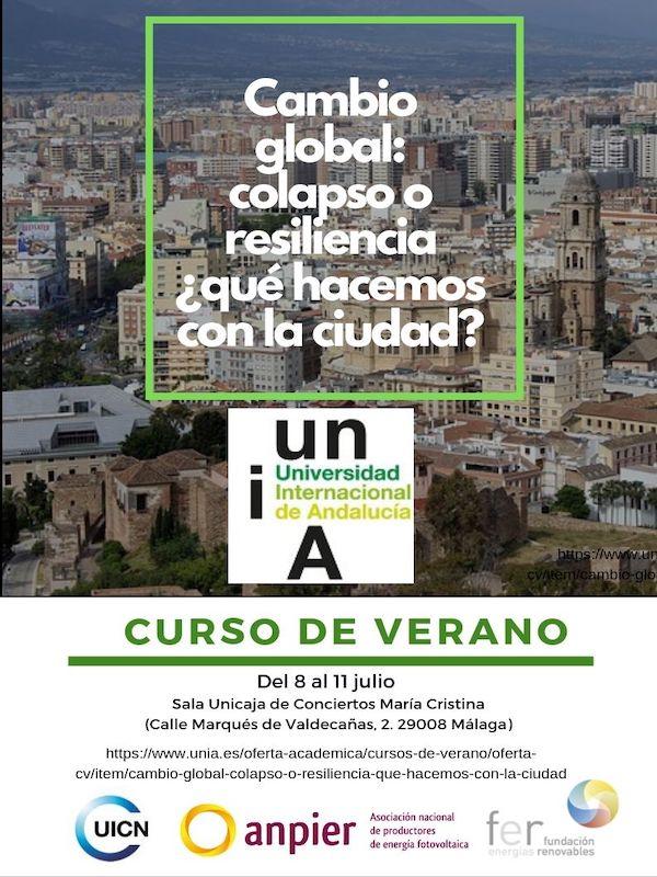 Curso de verano. Cambio global: colapso o resiliencia
